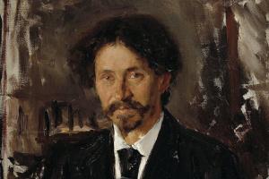 Портрет художника И. Е. Репина