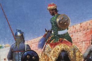 Всадник-воин в Джайпуре
