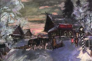 Константин Алексеевич Коровин. Россия. Ностальгия