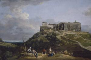 Бернардо Беллотто. Крепость Кёнигштайн