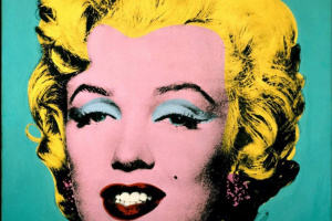 Andy Warhol. Turquoise Marilyn