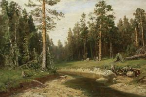 Иван Иванович Шишкин. Корабельный лес