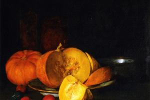 Уильям Меррит Чейз. Осенний натюрморт