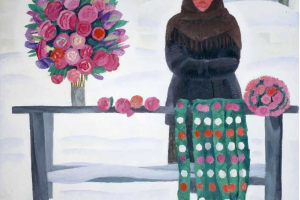 Татьяна Ниловна Яблонская. Бумажные цветы
