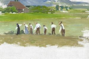 Куно Амье. Крестьяне в Хелльзау