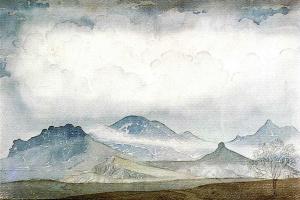 Maximilian Alexandrovich Voloshin. Karadag in the clouds