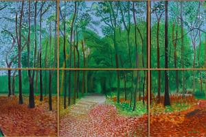 Леса в Восточном Йоркшире 24, 25 и 26 октября 2006 года