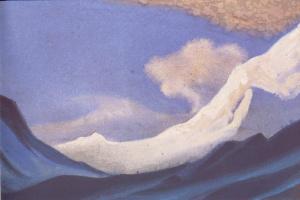 Николай Константинович Рерих. Гималаи (Облака над снегами)