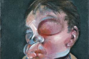 Фрэнсис Бэкон. Автопортрет с поврежденным глазом