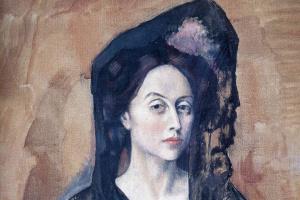 Пабло Пикассо. Портрет мадам Бенедетты Канальс
