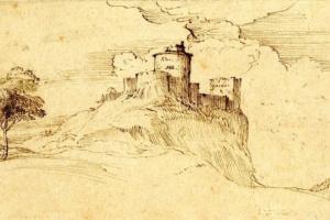 Тициан Вечеллио. Замок на скале