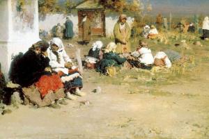 Абрам Ефимович Архипов. Радоница