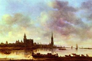 Ян ван Гойен. Вид на Эммерих