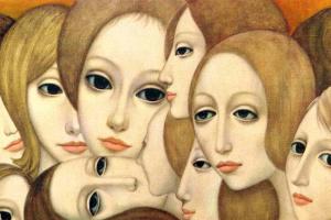 Маргарет Кин. Лица женщин