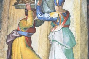 Иудифь и Олоферн (фрагмент)
