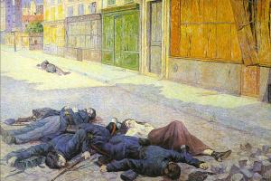 Максимилиан Люс. Парижская улица