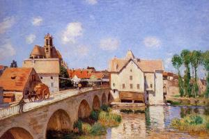Мост в Морэ