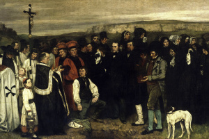 A funeral in Ornans