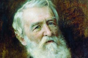 Константин Егорович Маковский. Портрет писателя Д.В. Григоровича