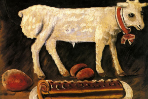 Нико Пиросмани (Пиросманашвили). Пасхальный барашек