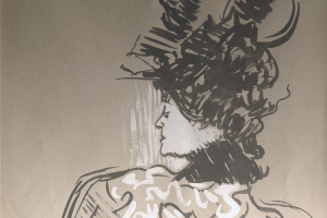 Анри де Тулуз-Лотрек. Новая шляпа (Сюзанна Валадон)