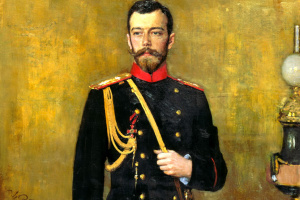 Илья Ефимович Репин. Портрет Николая ІІ