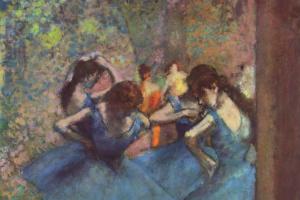 Эдгар Дега. Танцовщицы