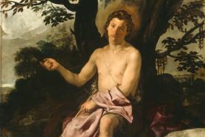 Диего Веласкес. Иоанн Креститель в пустыне