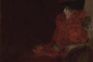 Густав Климт. Женщина в кресле