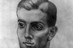 Пабло Пикассо. Портрет Леонида Мясина