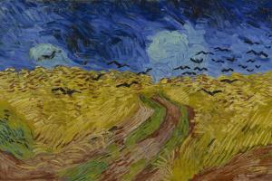 Винсент Ван Гог. Пшеничное поле с воронами