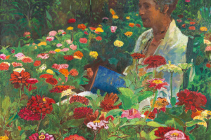 Анна в саду