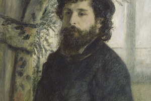 Пьер Огюст Ренуар. Портрет Клода Моне
