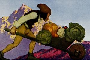 Максфилд Пэрриш. Овощи садовника