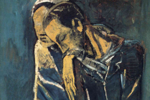 Пабло Пикассо. Две фигуры