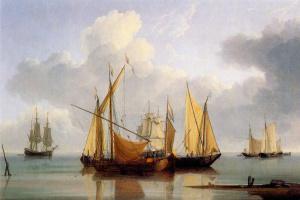 Клейтон Андерсон. Голландские лодки в покое