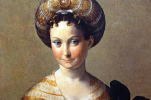 Франческо Пармиджанино. Портрет дамы в турецком костюме