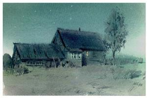 Sergey Alekseevich Makarov. Night, August, the moon...