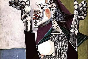 Пабло Пикассо. Умоляющая