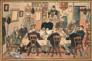 Josef Lada. Pub
