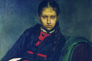 Ilya Efimovich Repin. The portrait VA Shevtsova, later the artist's wife
