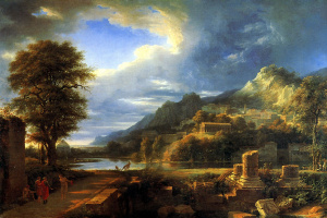 Pierre De Valenciennes. The ancient city of Agrigento