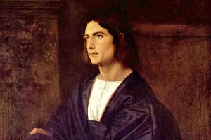Тициан Вечеллио. Портрет молодого человека