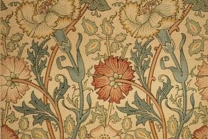 Гвоздики и розы. Дизайн для обоев и оформления интерьера