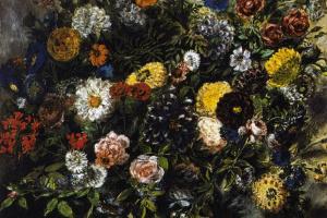 Эжен Делакруа. Букет цветов
