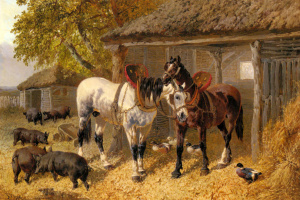 John Frederick Herring. Farm