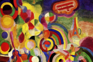 Robert Delaunay. In honour of Bleriot (Homage to blériot)