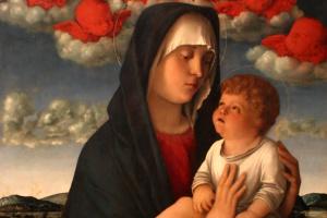 Мадонна с красными херувимами