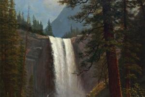 Альберт Бирштадт. Водопад Вернал, Калифорния
