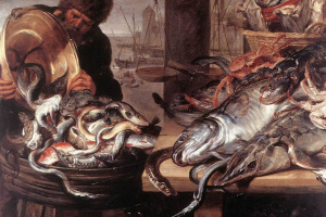 Франс Снейдерс. Торговец рыбой
